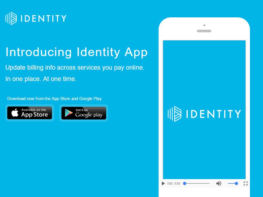 Identity screenshot