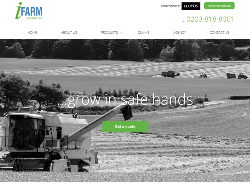 iFarm Underwriting screenshot