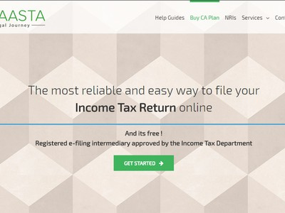 Income Tax Return Filing screenshot