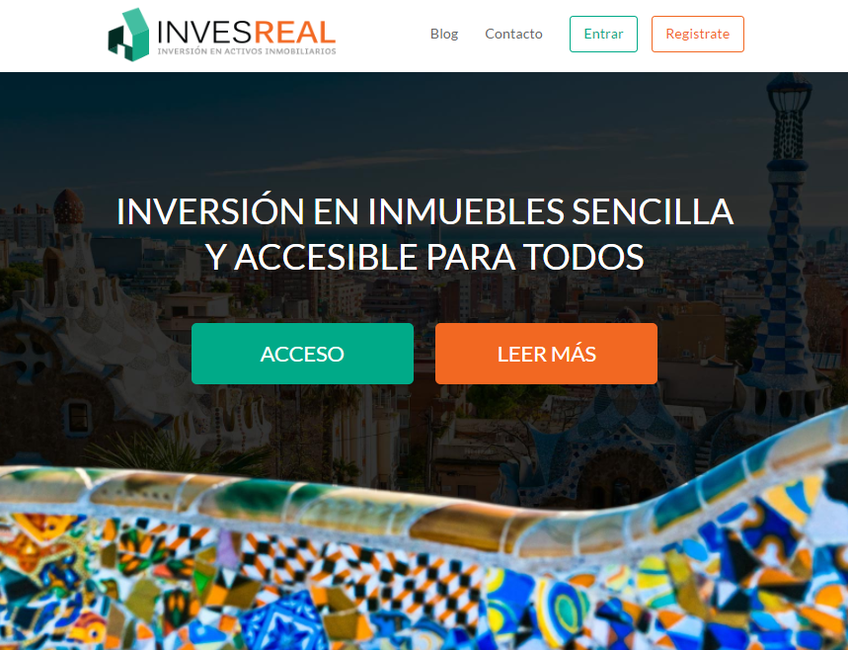 Invesreal screenshot