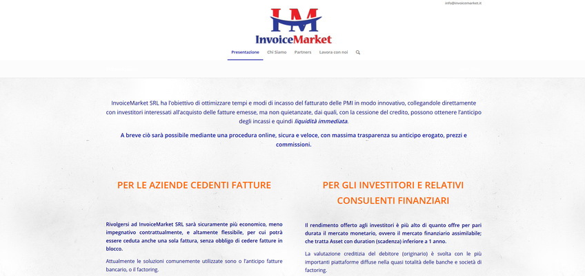 InvoiceMarket srl screenshot