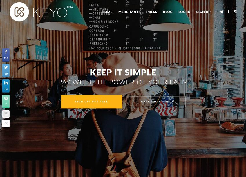 Keyo screenshot