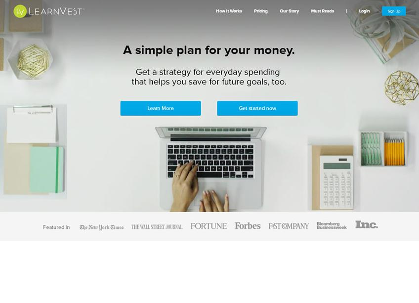 Learnvest screenshot