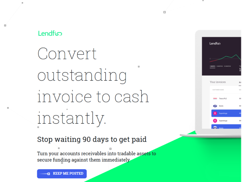 Lendflo screenshot
