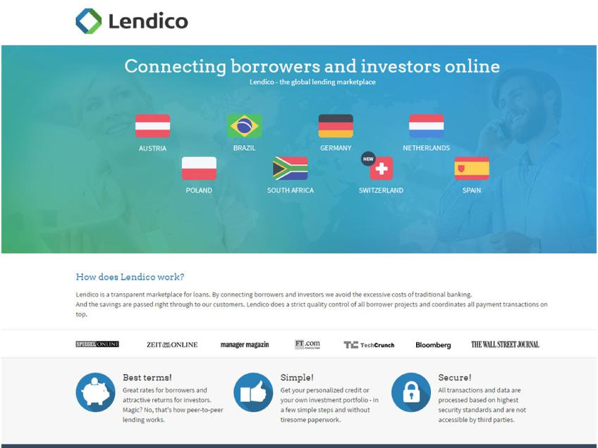 Lendico screenshot
