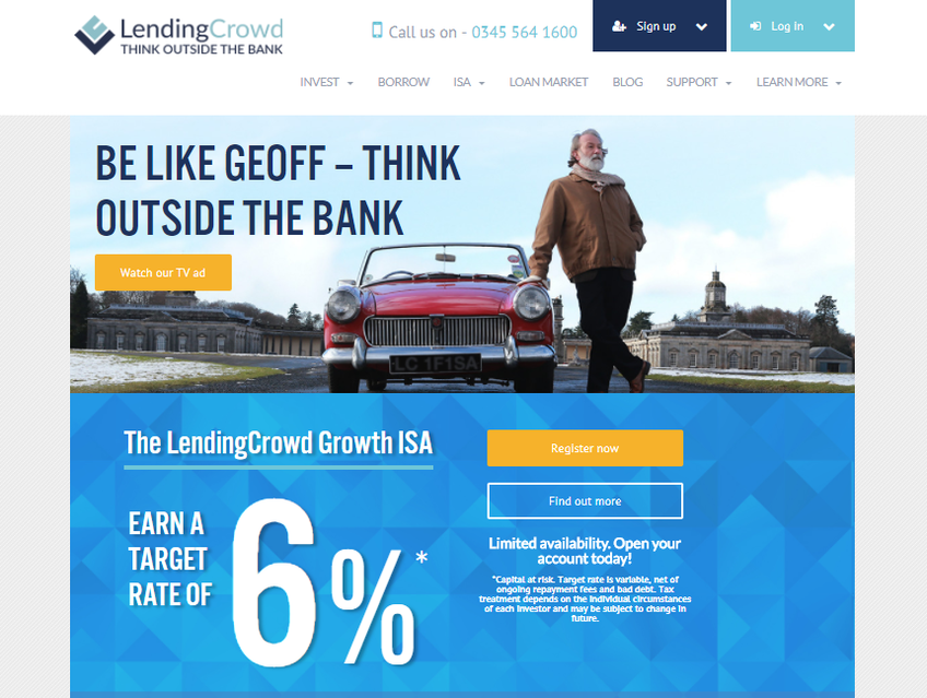 LendingCrowd screenshot