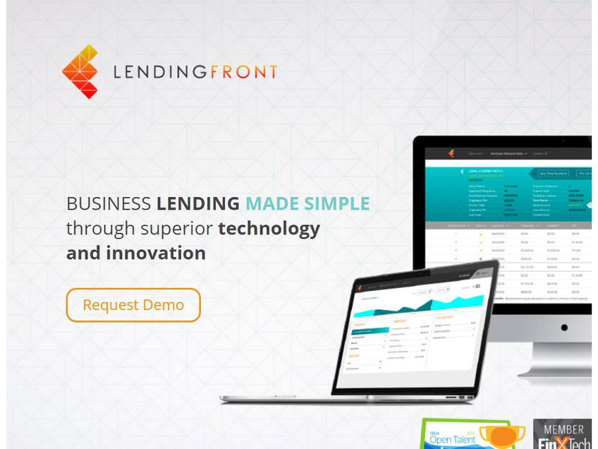LendingFront screenshot