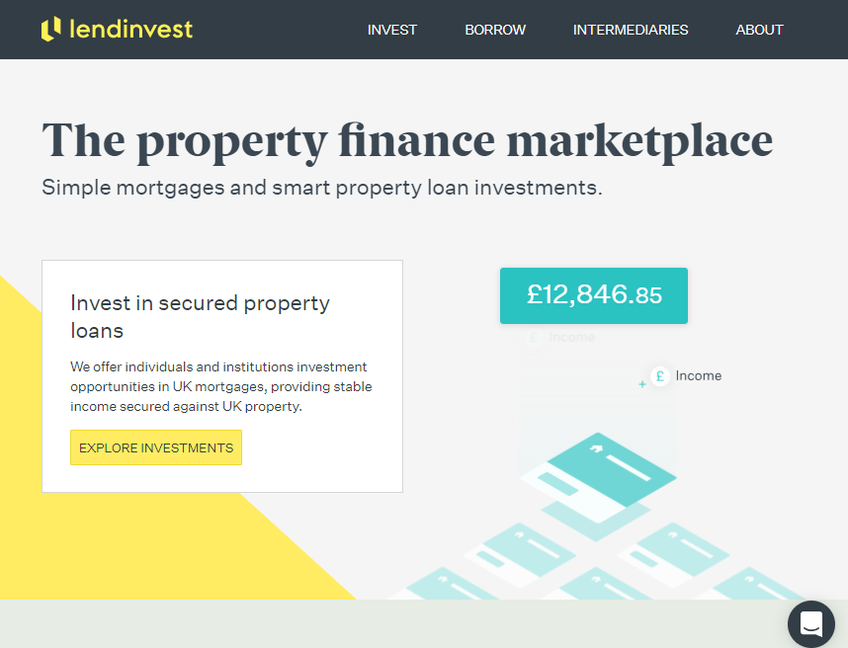 LendInvest screenshot