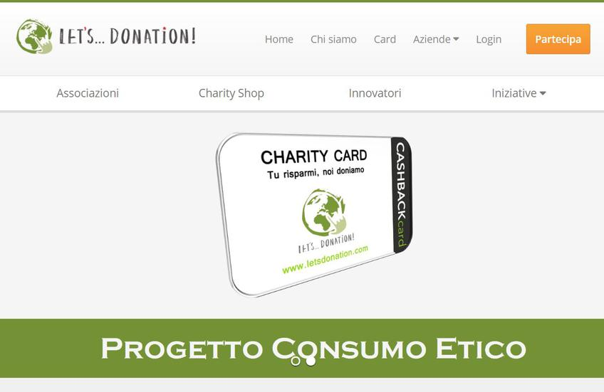 Let's Donation screenshot