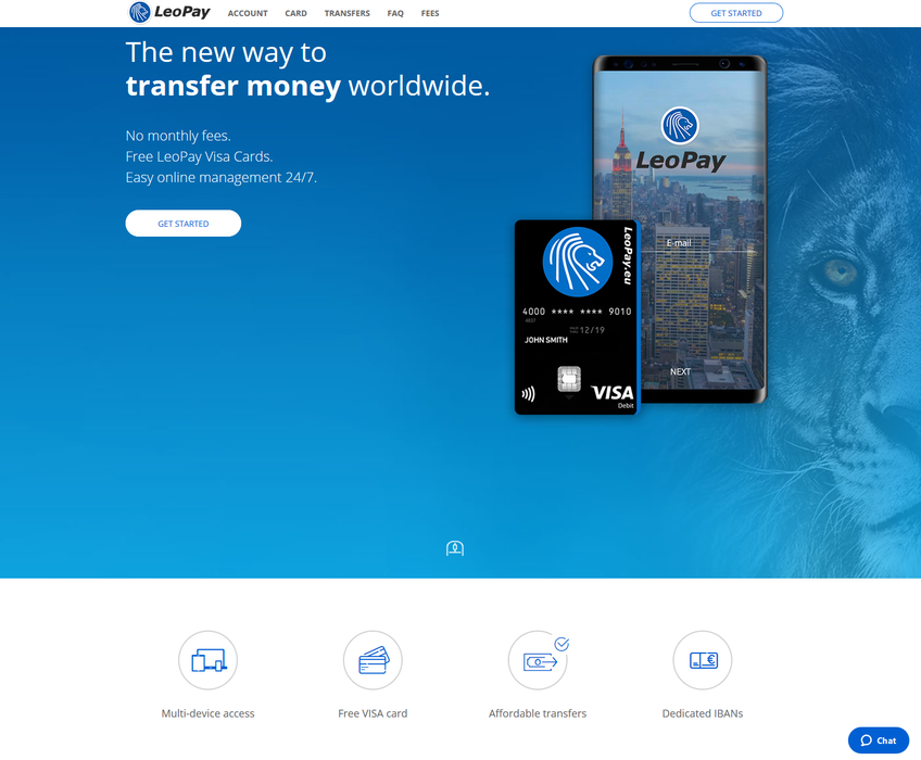 LeoPay screenshot