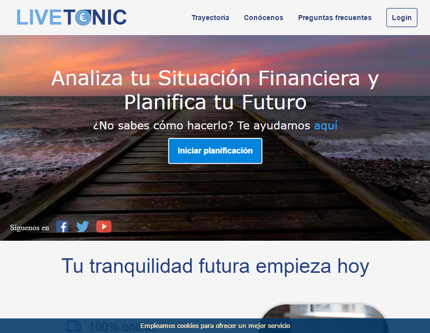 Livetonic screenshot