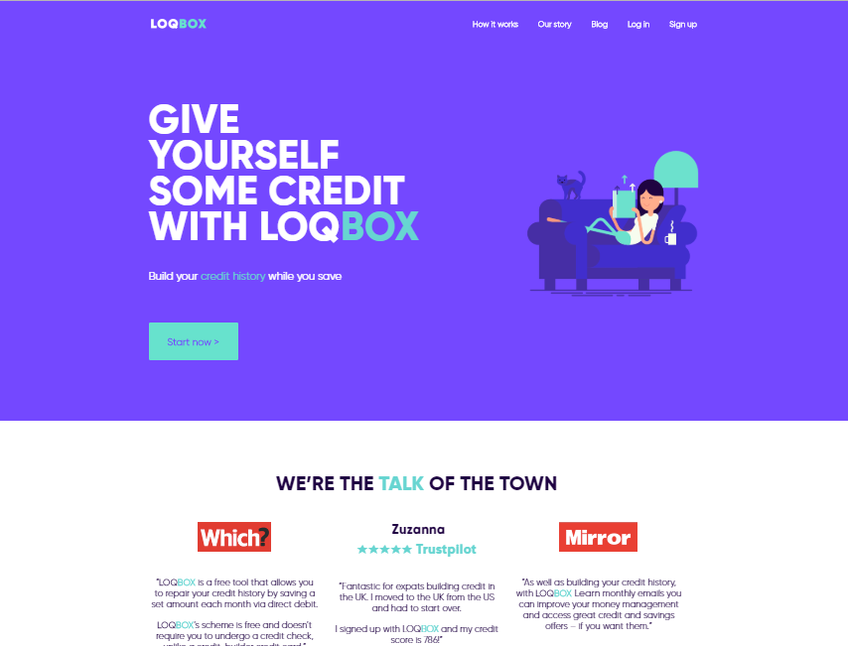 LoqBox screenshot