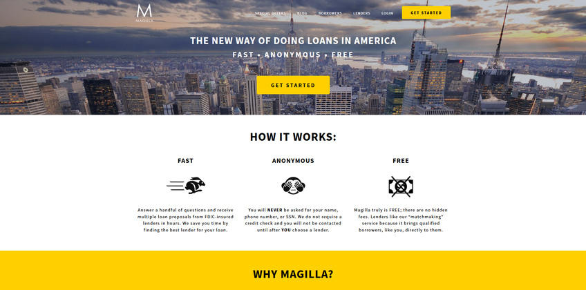 Magilla Loans screenshot