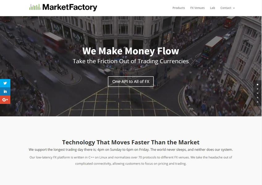Marketfactory screenshot