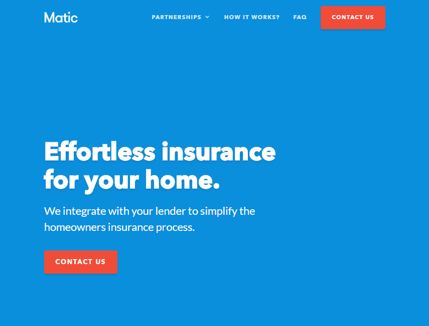 Matic Insurance screenshot