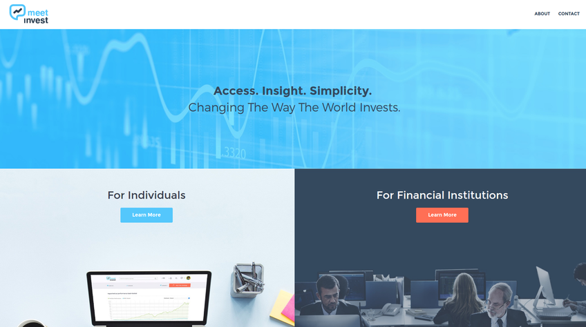 Meetinvest screenshot