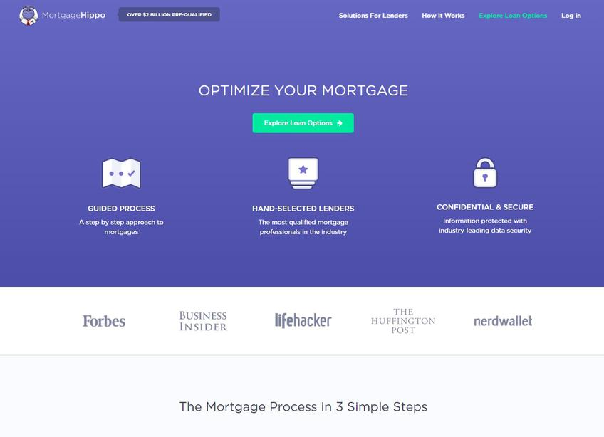 MortgageHippo screenshot