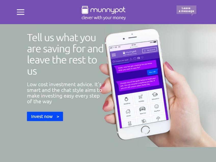 Munnypot screenshot