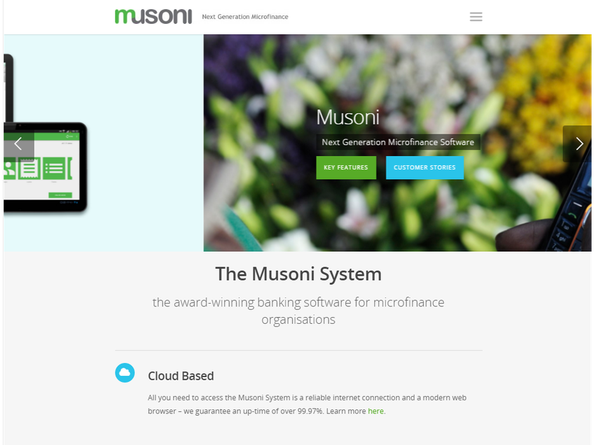 Musoni System screenshot