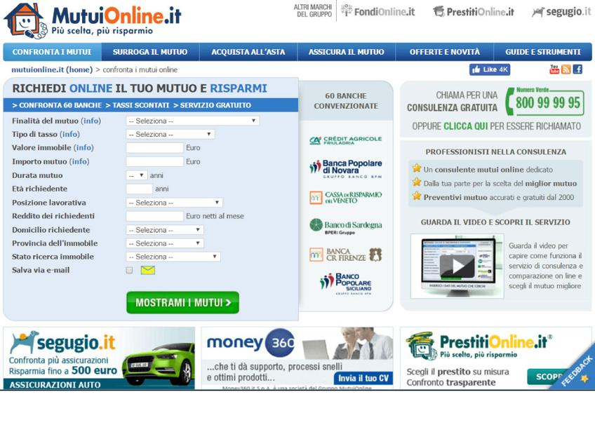 MutuiOnline screenshot