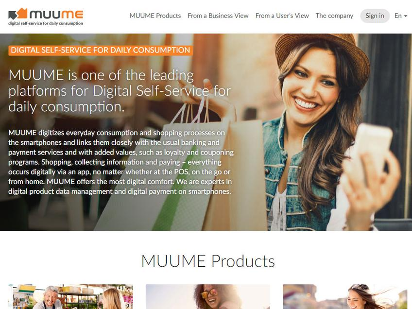 Muume screenshot