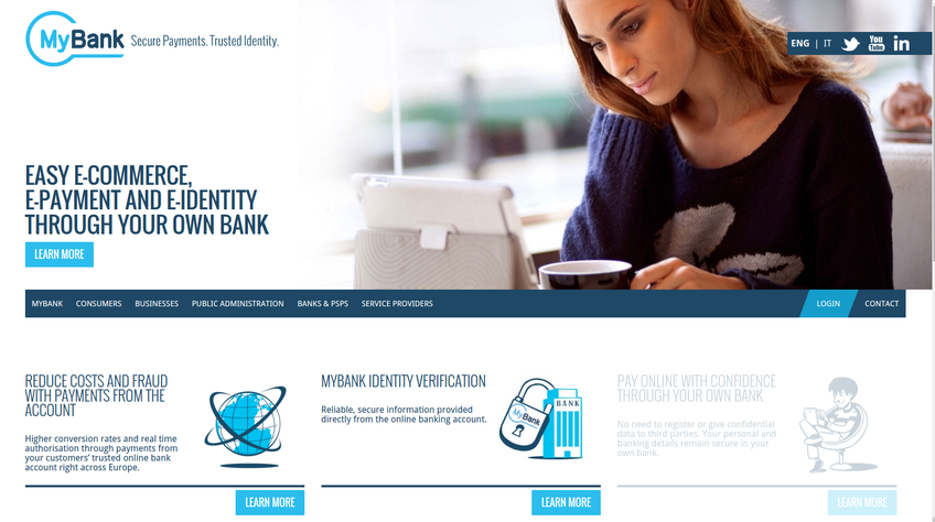 MyBank screenshot