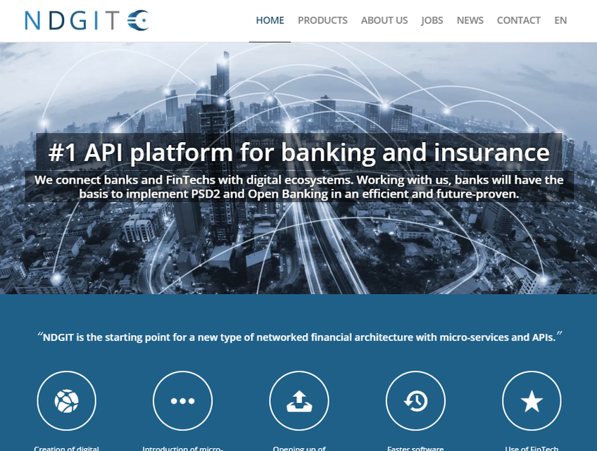 NDGIT  - Next Digital Banking screenshot