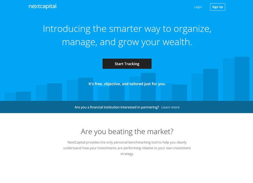 NextCapital screenshot