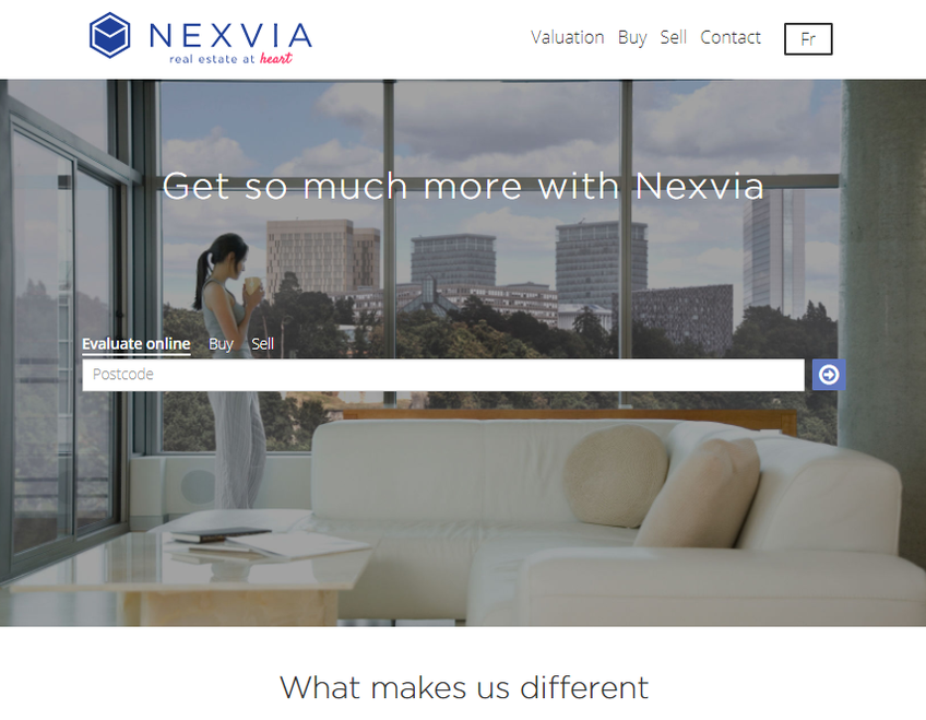 Nexvia screenshot
