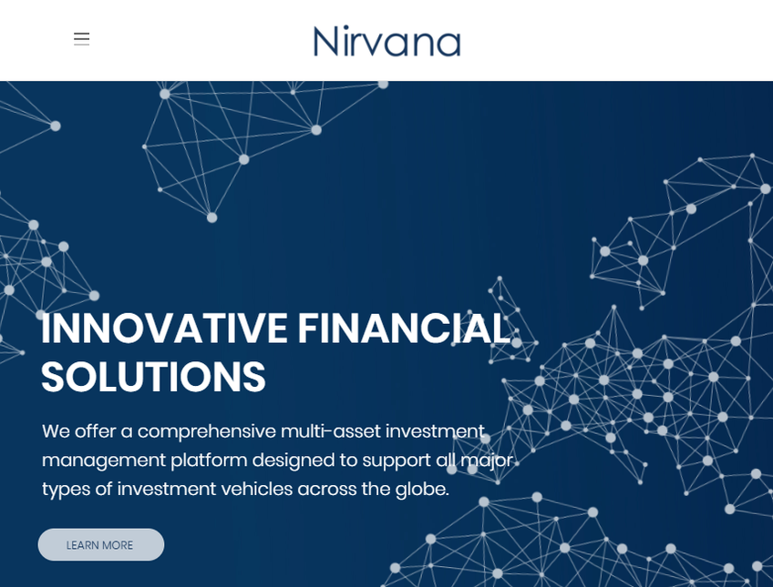Nirvana Solutions screenshot