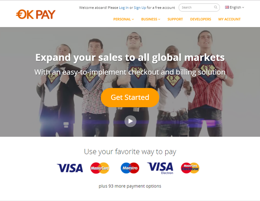 OKPAY screenshot