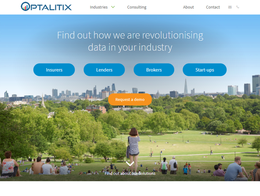 Optalitix screenshot