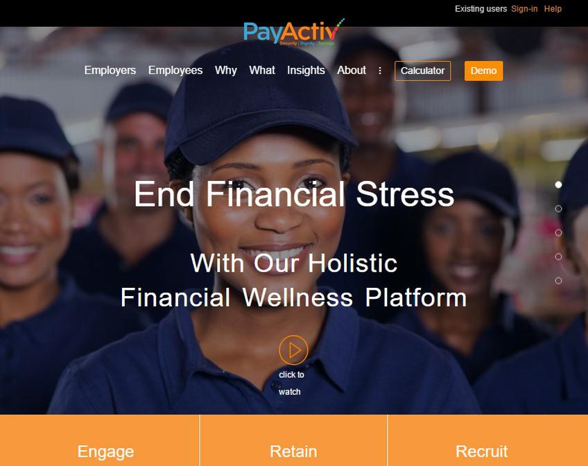 Payactiv screenshot