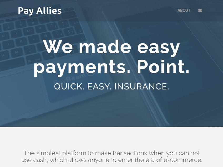 Payallies screenshot