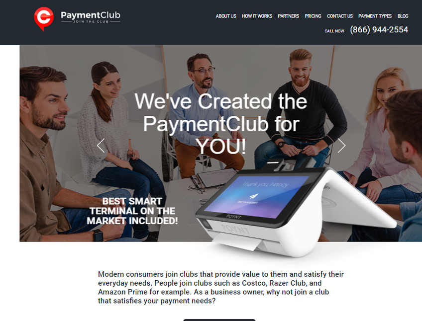 PaymentClub screenshot