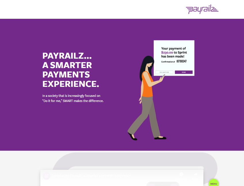 Payrailz screenshot