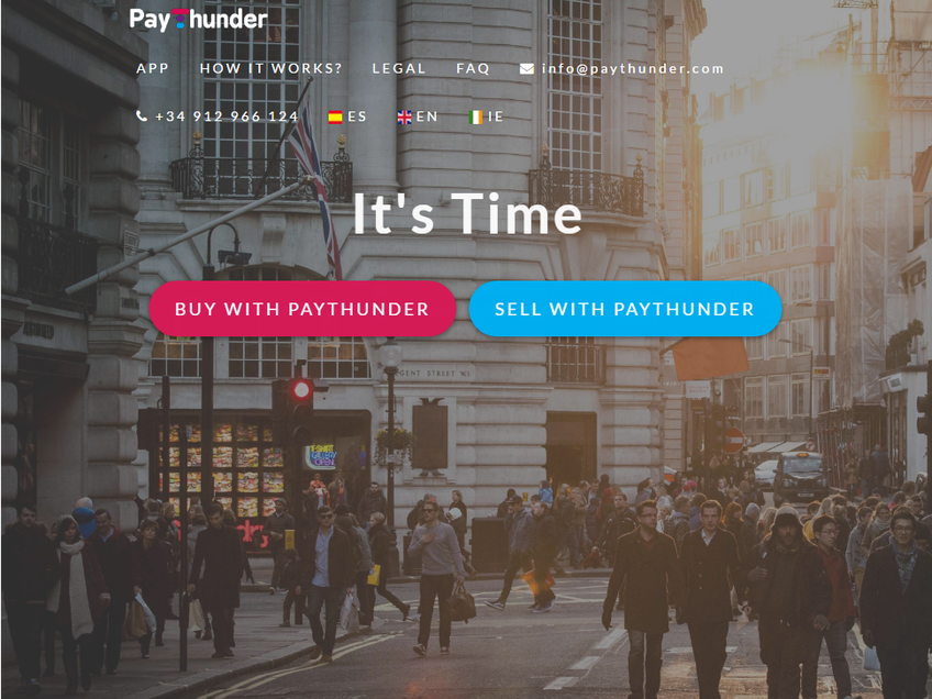 PayThunder screenshot