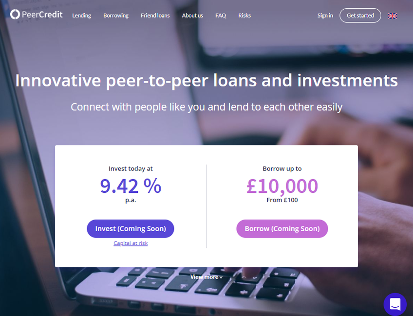 PeerCredit screenshot