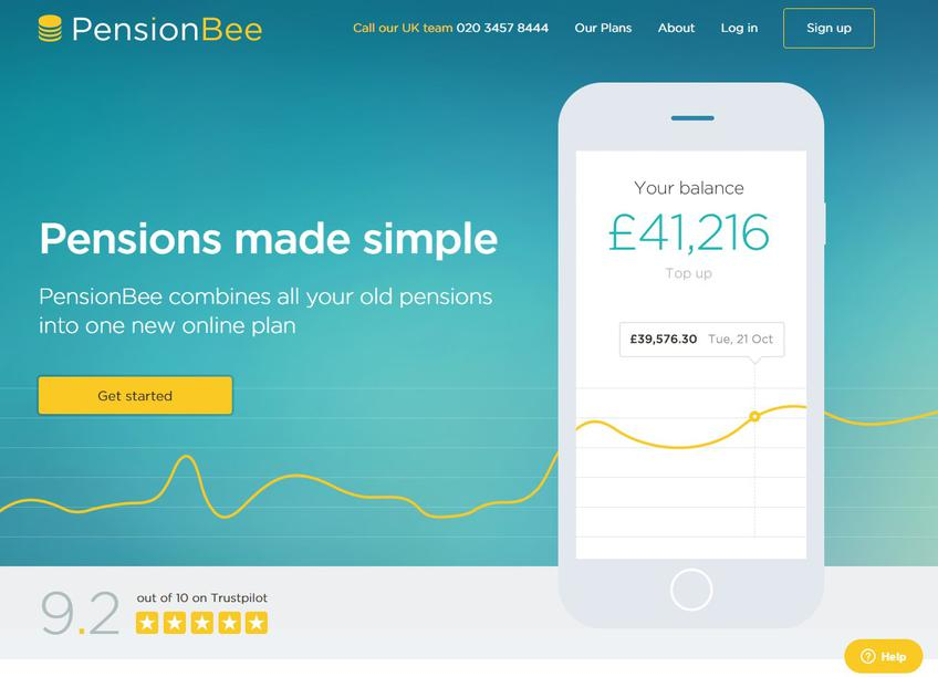 PensionBee screenshot