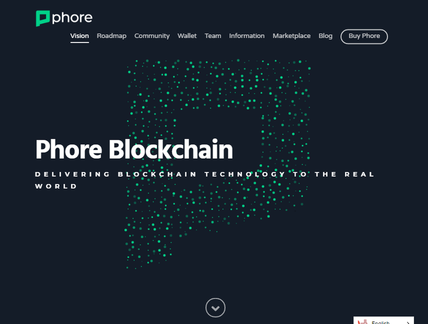 Phore Blockchain screenshot