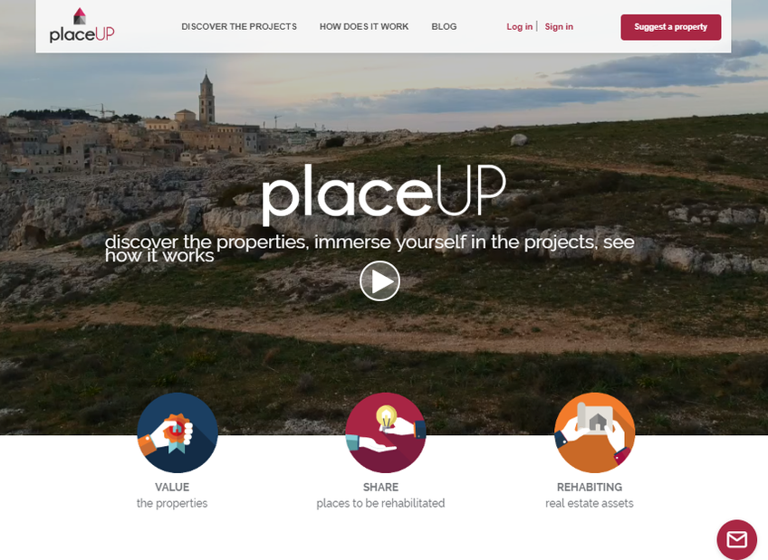 placeUP screenshot