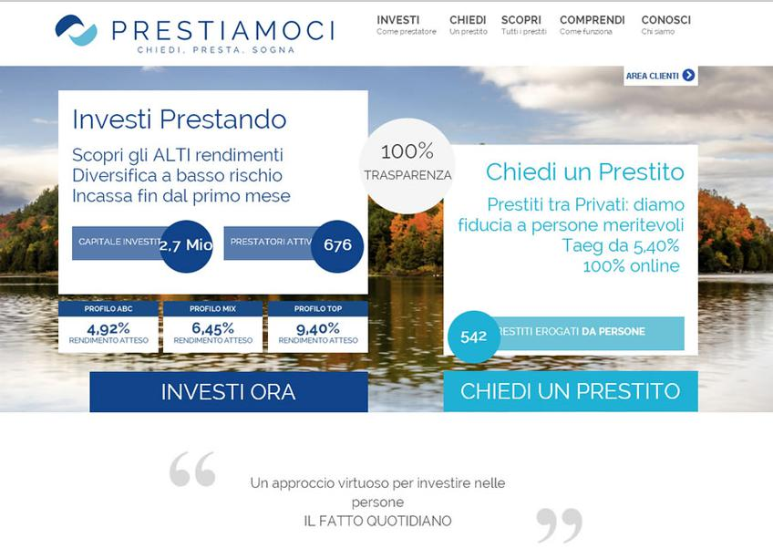 Prestiamoci screenshot