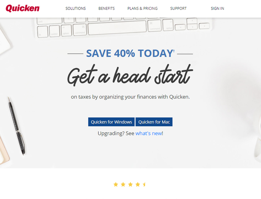 Quicken screenshot