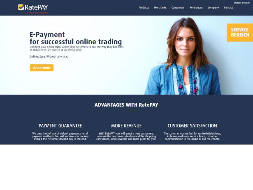 RatePay screenshot