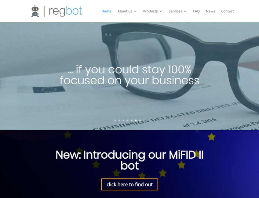 RegBot screenshot
