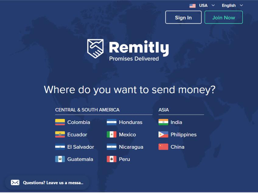 Remitly screenshot