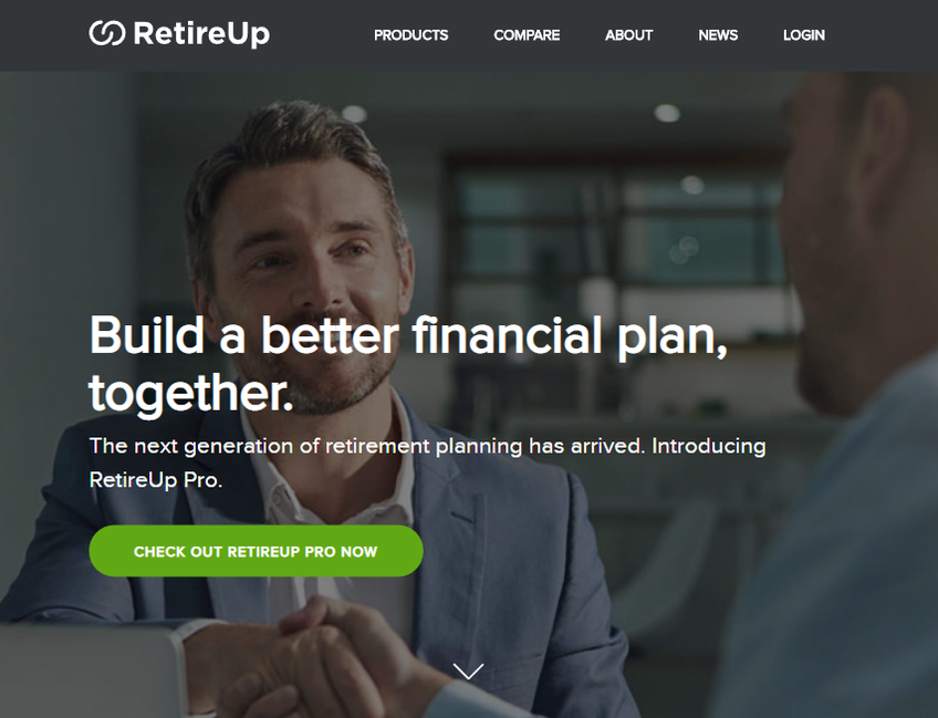 RetireUp screenshot