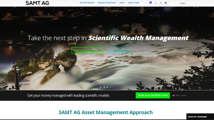 SAMT AG screenshot