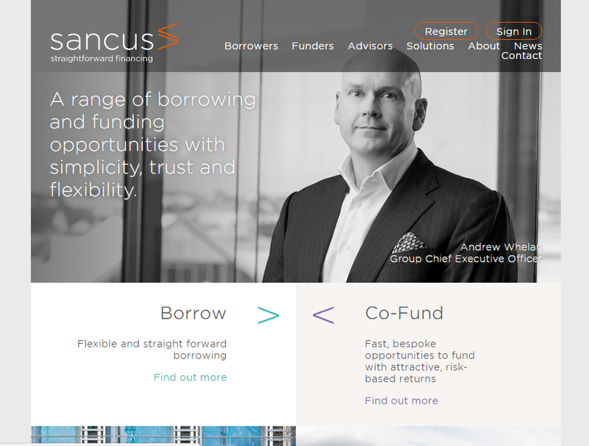 Sancus Finance screenshot