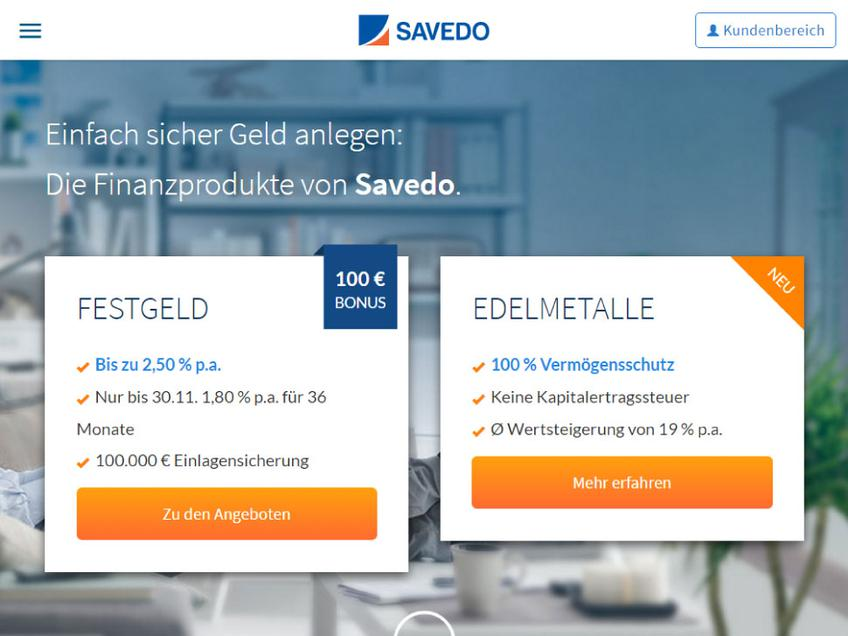 Savedo screenshot